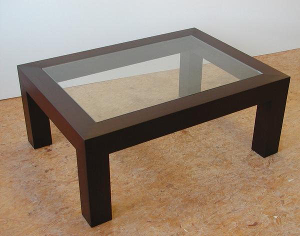 beistelltisch mit glas nachttisch holztisch glastisch. Black Bedroom Furniture Sets. Home Design Ideas